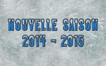 Inscription saison 2014-2015