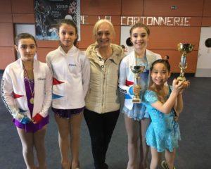Compétition à Dammarie (FR)